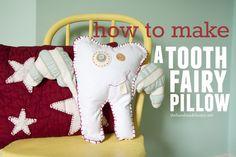 how to make a tooth fairy pillowthe handmade home