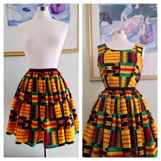 Hey, I found this really awesome Etsy listing at https://www.etsy.com/listing/169562425/ankara-kente-skirt-for-women