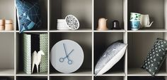 Nendo designed the furniture and housewares collection Fusion for BoConcept, with the aim of creating new functions and visual effects by fusing together two different elements. Boconcept, Nendo Design, Product Design, Shelving, Furniture, Home Decor, Shelves, Decoration Home, Room Decor