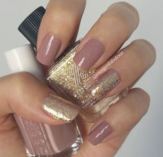 I'm loving this nude/rosey color so much!