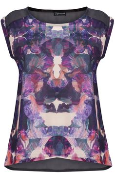 Festival Blurred Floral Tee   # Pin++ for Pinterest #
