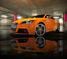 My car - 2012 Solar Orange Audi TTS