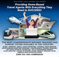 Learn how to become a travel agent or get a travel agent job | AARC Host Agency - Agent Access Resource Center  800-619-8646