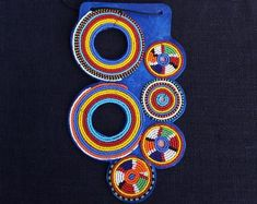 Etsy :: Your place to buy and sell all things handmade Beaded Jewelry, Unique Jewelry, Will Turner, Zulu, Handmade Items, Handmade Gifts, Statement Jewelry, Etsy Seller, Stuff To Buy
