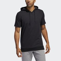 Shop men's adidas hoodies and sweatshirts including trefoil logo, ZNE, zip-up & pullover hoodies. See all colors and styles in the official adidas online store. Adidas Hoodie, Adidas Shorts, Short Sleeve Hoodie, Short Sleeves, Black Adidas, Adidas Men, Baseball Shorts, Hooded Sweatshirts, Hoodies