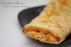 Hojaldre relleno de puerros y queso de cabra - http://www.thermorecetas.com/2014/03/03/hojaldre-relleno-de-puerros-y-queso-de-cabra/