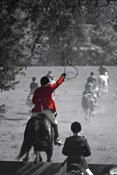 Opening day at the Belle Meade Hunt - Thomson, GA  Photo credit - Adrianne Smith