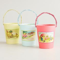 DIY inspiration - Vintage-Inspired Easter Containers from World Market