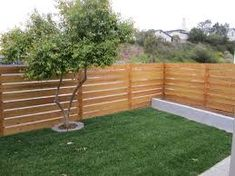Image result for inexpensive horizontal fencing