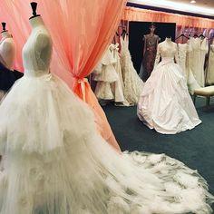La bridal couture di Marchesa by Georgina Chapman #arabfashioncouncil #arabfashionweek #studioguitar #marchesa