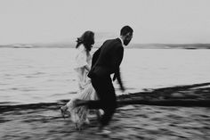 Boho-Elopement-Oceanside - Vancouver by Abigail Eveline Photography Much Wow, Vancouver, Sunshine, Ocean, Sky, Black And White, Boho, Couple Photos, Photography