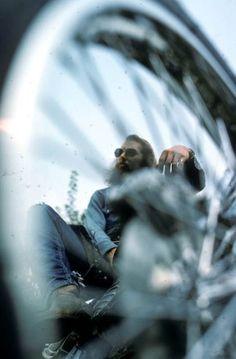 Biker beard Harley Davidson