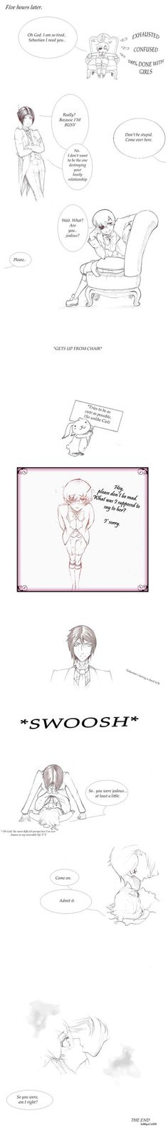 So a new short story I came up with, LOL poor Ciel and his dreams, he (I) wished that happed, >////////////< (Anyway, Sebastian knows what's going on xD) yeaaaaahh, idk where these ideas...