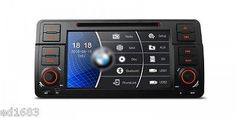 """7"""" HD Touch WinCE6.0 Car DVD GPS Navi CANbus for BMW E46 320 325 (1998-2006)"""