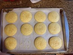 Egg Yolk Citrus Cookies - Made this. Halved to use up the three yolks from the gf french bread recipe and used my gf flour blend. Used orange and vanilla only as was out of lemon. My butter was almost melted, so the cookies were thinner, but they were delicious! Even halved, the recipe made a few sheets of cookies, not that they lasted long. -J