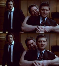 Cas: This is their handshake.    Dean: I don't like it!    Cas: No one likes it.