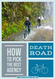 Cycling Death Road in Bolivia is no joke, so choosing the right agency to do it with is very important. Find here more info. #boliva #deathroad #cycling #hiking #southamerica #backpacking Once In A Lifetime, Bolivia, South America, Need To Know, Backpacking, Cycling, Death, Hiking, Jokes