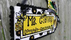 Teacher Name Sign Personalized.