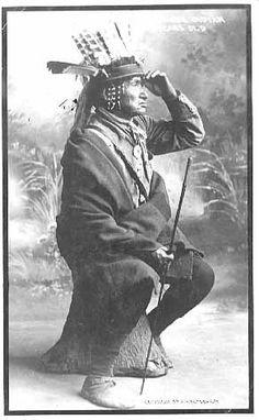Menominee man - 1910