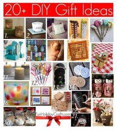 20+ DIY Gift Ideas