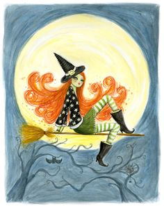 Bella Pilar... reminds me of my little witch last year!