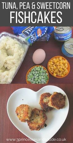 Cooking With Kids Tuna and Veg Fishcakes - this looks like a good recipe for a hot lunch option for the kids