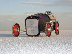 Click image for larger version Name: salt peddle car.jpg Views: 54 Size: KB ID: 349700 Soap Box Derby Cars, E Motor, Savon Soap, Lowrider Bike, Kids Bicycle, Red Wagon, Power Cars, Metal Toys, Kids Ride On