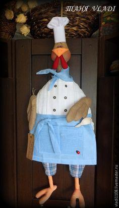 Курица пакетница с выкройкой