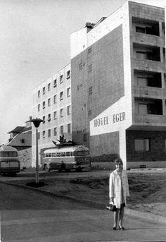 1969. 1984. Eger, Szálloda utca 1-3. - Hotel Eger és Park Szálló