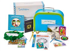 Give your child the gift of adventure with a subscription to Little Passports! They'll receive monthly packages filled with letters, souvenirs, activities & more. Perfect for ages 3-12!