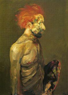 """""""Retrato de Vicent"""" del artista argentino Carlos Alonso"""