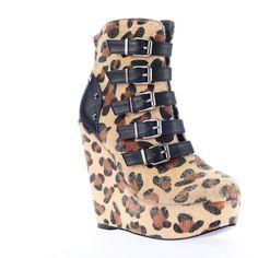 Love Bites Platform Wedge Shoes