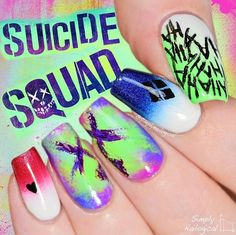 Suicide squad nails