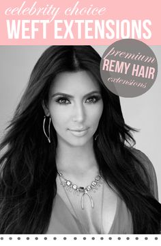 """20"""" Celebrity Choice - Weft Hair Extensions 