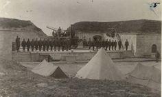 GBP - Ottoman Turkish Army Dardanelles Turkey Fort 1915 World War 1 1 Turkish Soldiers, Turkish Army, Maunsell Forts, Gallipoli Campaign, Fortification, World War I, Martini, Coastal, History
