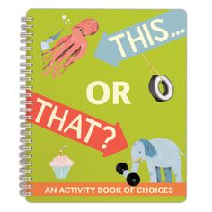 This . . . or That? Activity Book by Knock Knock - knockknockstuff.com
