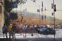Painting Landscapes, Cityscapes and Seascapes in Watercolor