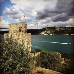 Rumeli Fortress in Istanbul. Sultan Mehmed II built it in 1452 to stop any possible aid that would come from the Black Sea to Constantinople.