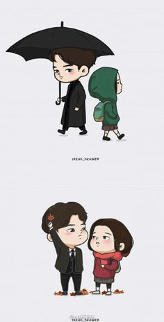 Korean Drama List, Goblin Korean Drama, Goblin Kdrama Quotes, Goblin The Lonely And Great God, Goblin Art, Anime Korea, Yoo Gong, Cute Couple Cartoon, Anime Expressions