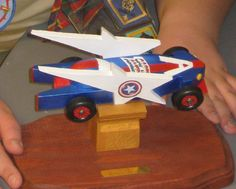 N's Captain America Racer for Scouts 2009