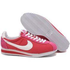 Outlet Store Nike Cortez Nylon Vintage Pour Homme Baskets Rose Vin