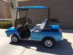 This one is the wife's personal golf cart