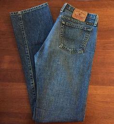 Lucky Brand Womens Sz 8 Low Denim Style 829K010 Cut R3832 Lucky You! Blue Jeans #LuckyBrand #Style829K010CutR3832