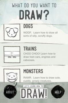 Let's Learn How To Draw #digitaldesign #design #app