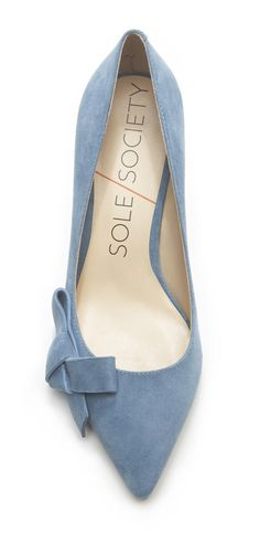 Dusty Blue Pumps//