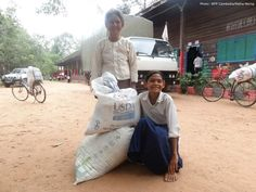 Behind every WFP school meal is a child with a dream. Take 13-year-old Sreythy in Cambodia. She loves math and literature, and she hopes to be a teacher. Her family receives USDA rice as incentive for her to attend school and make this dream come true.