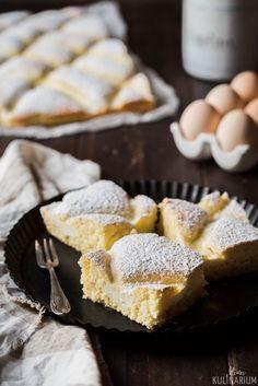Steppdeckenkuchen Rührkuchen mit Quark - Kleines Kulinarium