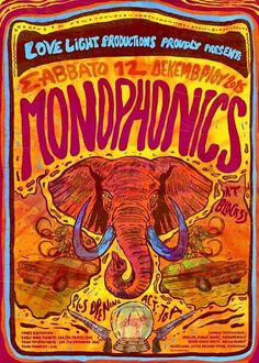 Monophonics are coming winter is not.