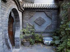 Beijing Hutong, Beijing Siheyuan, alleyways in Beijing Ancient Chinese Architecture, Asian Architecture, Asian Garden, Chinese Garden, Traditional Chinese House, Chinese Courtyard, Moon Gate, Kitchen Design Open, Zen