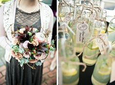 Beautiful Brunch Wedding with Protea Details by CC Rossler